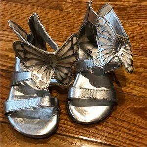 MK butterfly sandals